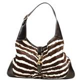 Gucci Jackie pony-style calfskin handbag