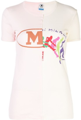 M Missoni slim fit patchwork T-shirt