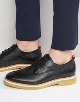 Zign Shoes Leather Crepe Sole Derby Shoes