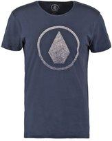 Volcom Solid Stone Print Tshirt Navy