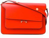 Marni Trunk satchel - women - Calf Leather/Brass - One Size