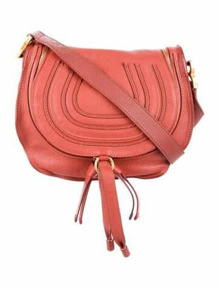 Chloé Medium Marcie Crossbody Bag Red