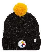 '47 Fiona Pittsburgh Steelers Pom Beanie