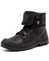 Palladium Baggy Black Leather