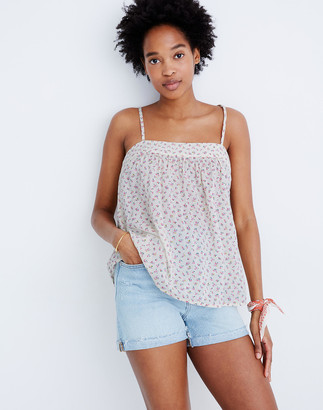 Madewell High-Rise Denim Shorts in Cantrell Wash: TENCEL Lyocell Edition