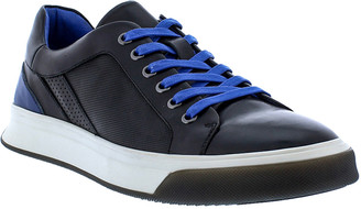 Robert Graham Men's Prototype Two-Tone Leather Sneakers