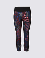 M&S Collection Printed Cropped Leggings