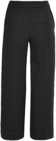 Martin Grant Silk Cropped Loose Fitted Pants