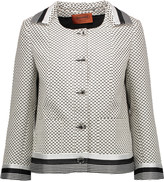 Missoni Crochet-trimmed woven cotton-blend jacket