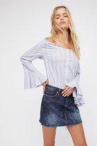 Blank NYC Side Hustle Denim Skirt by at Free People