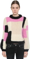 Ganni HAND KNIT WOOL SWEATER