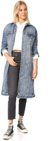 Hudson Denim Duster Jacket