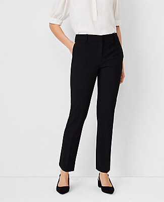 Ann Taylor The Petite Ankle Pant In Bi-Stretch