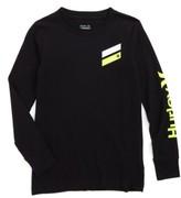 Hurley Boy's Icon Slash Logo T-Shirt