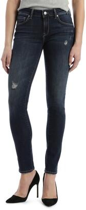 Mavi Jeans Alexa Distressed Skinny Jeans