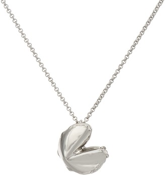 Fortune & Frame Fortune Cookie Locket with Chain, Medium