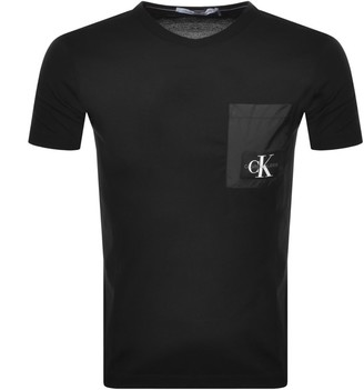 Calvin Klein Jeans Pocket Logo T Shirt Black