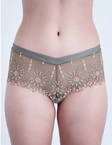 Chantelle Vendôme mesh shorty briefs