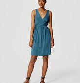 LOFT Double V Flare Dress