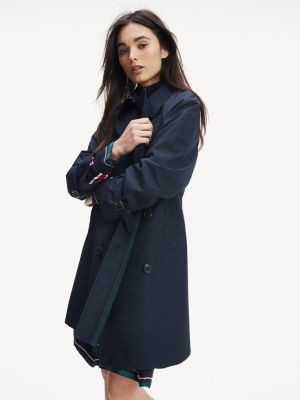 Tommy Hilfiger Relaxed Fit Short Trench Coat
