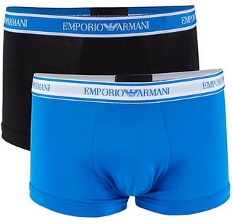 Emporio Armani 2-Pack Stretch-Cotton Boxer Briefs