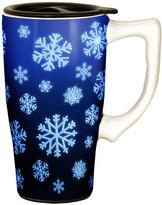 Snowflakes 14-Oz. Travel Mug