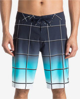 Quiksilver Men's Everyday Electric Ombré Windowpane Boardshorts