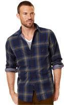 Nautica Shirt, Long Sleeve Cloth Plaid Shirt