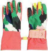 Stella McCartney Camo Printed Nylon Ski Gloves
