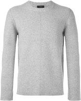 Joseph stitch detail sweatshirt