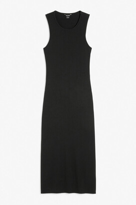 Monki Open-back midi dress