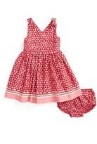 Kate Spade Infant Girl's Border Print Dress