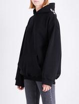 Balenciaga Logo-print cotton-jersey hoody
