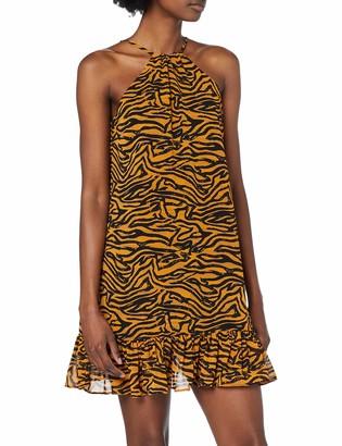 Glamorous Women's Animal Print Party Dress
