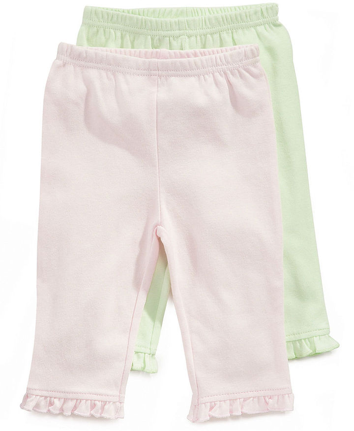 First Impressions Baby Pants, Baby Girls Pants 2-Pack