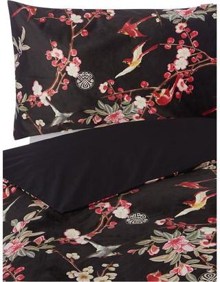 Biba Erica Blossom Velvet Pillowcase Pair
