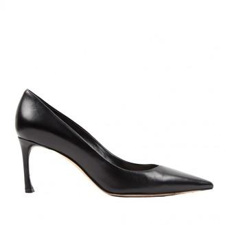 Christian Dior D-Stiletto Black Leather Heels