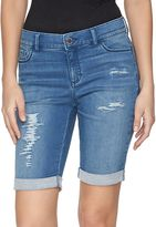 Juicy Couture Women's Flaunt It Bermuda Jean Shorts