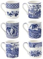 Spode Blue Room Assorted Mugs (Set of 6)