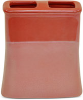 Jessica Simpson Kensley Spice Coral Toothbrush Holder