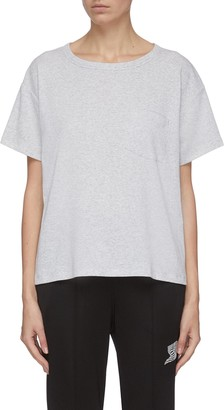Alexander Wang Tilted pocket detail vintage T-shirt