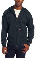 Dickies Men's Midweight Fleece Full Zip Hooded Sweatshirt
