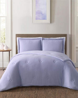 Truly Soft Everyday Solid Jersey Lavender Comforter Set
