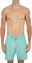 Faherty Men's Board Shorts-GREEN