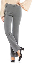 Calvin Klein Luxe Stretch Menswear Stripe Suiting Modern Fit Straight-Leg Pants
