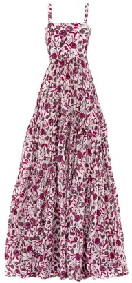 Alexis Zafia Floral Maxi Dress