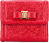 Salvatore Ferragamo Gancio French continental wallet - women - Calf Leather - One Size