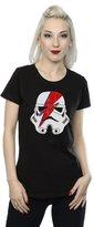 Star Wars Women's Stormtrooper Glam Lightning Bolt T-Shirt