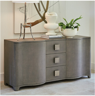 Global Views Toile Linen Credenza