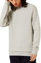Topman Men's Quilted Sweatshirt